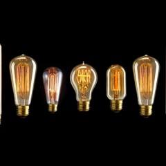 Rychlý RETRO tip na dárek: vláknové žárovky