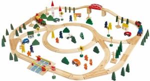 Dětský dřevěný vlak Woody